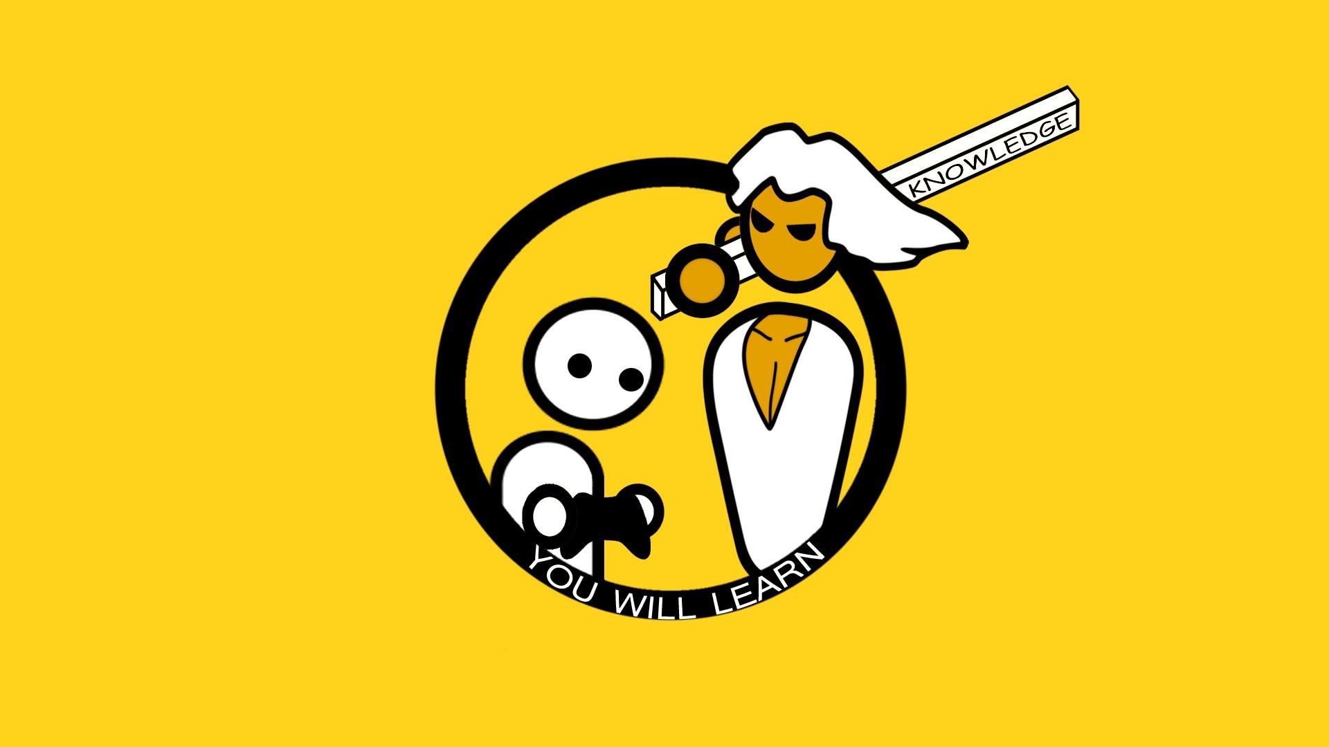 Wallpaper : illustration, logo, cartoon, PC gaming, PC.