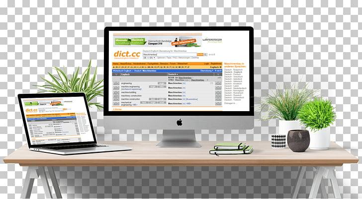 Mockup iMac Desktop Computers, design PNG clipart.