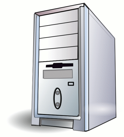 Computer Tower Clipart.