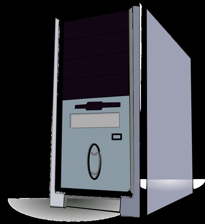 File:Desktop PC Tower Vector Image Clipart.png.