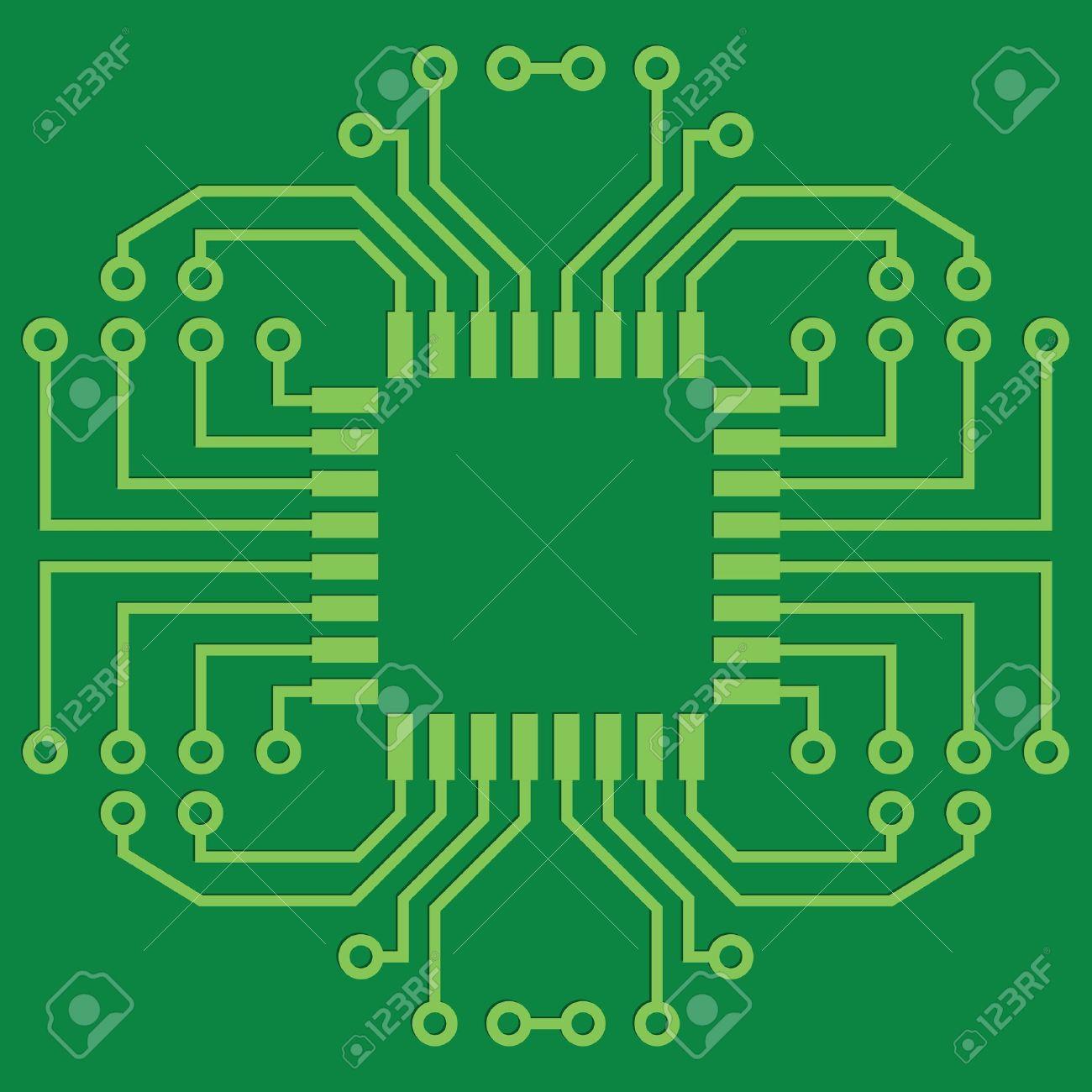 printed circuit board clipart