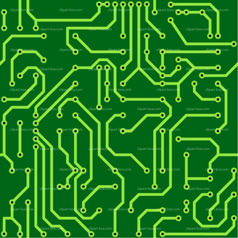 Circuit Board Clipart.