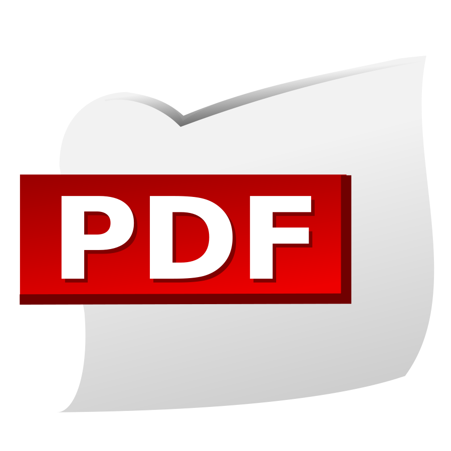 Pdf Clipart.