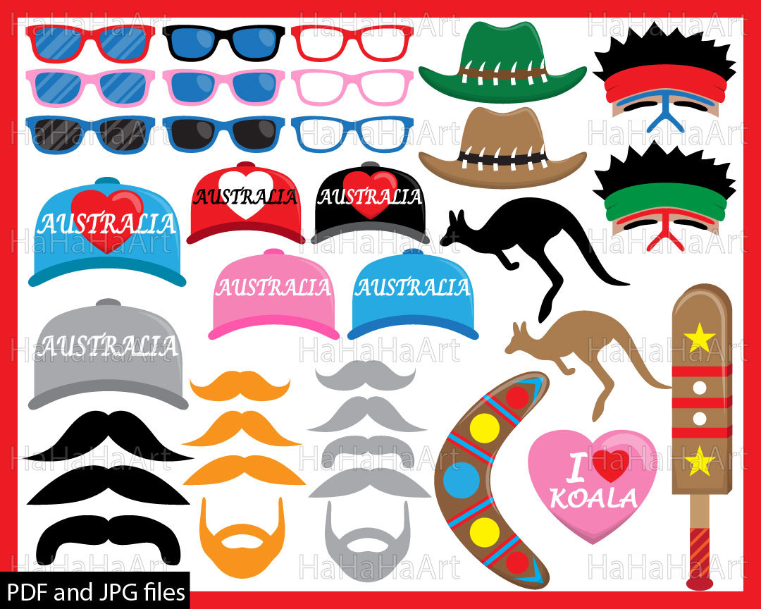 Australia clipart pdf, Australia pdf Transparent FREE for.