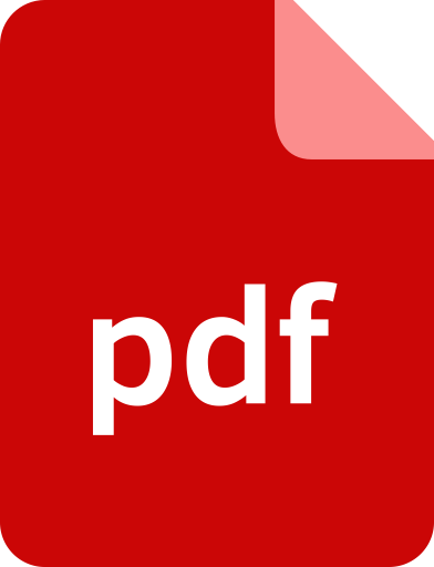 Document, extension, file, format, pdf icon.