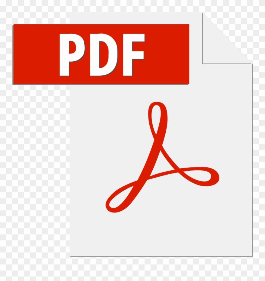 Adobe Pdf File Icon Logo Vector Free Vector Silhouette.