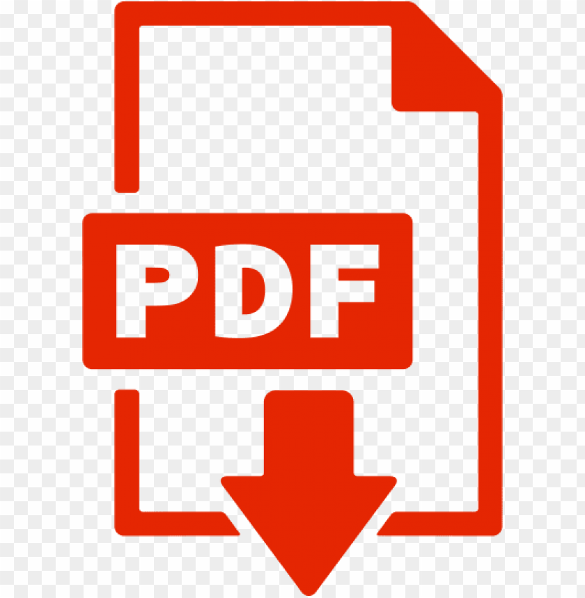 pdf icon PNG image with transparent background.