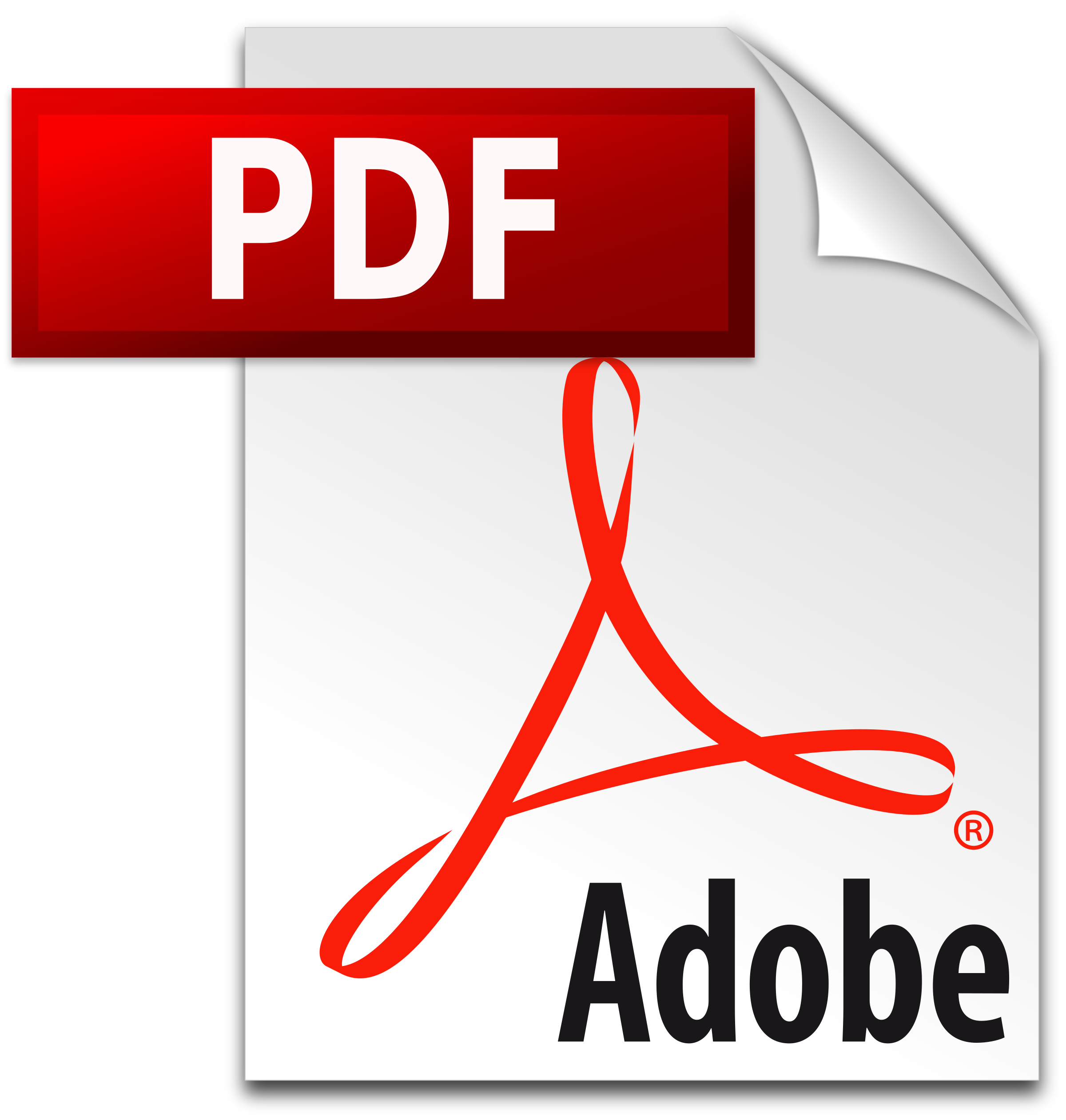 PDF icon Logo PNG Transparent & SVG Vector.