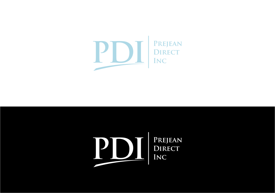 Elegant, Playful Logo Design for PDI Prejean Direct Inc by.