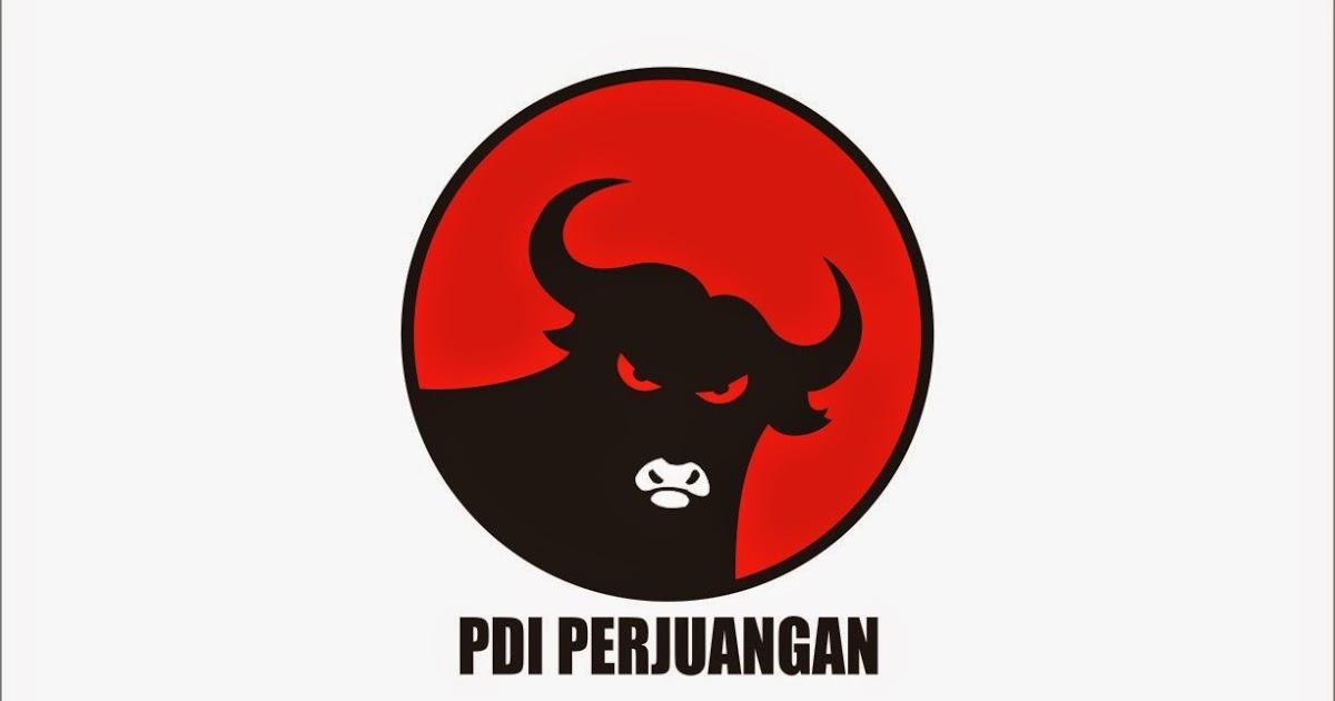 PDI Perjuangan Logo Vector ~ Format Cdr, Ai, Eps, Svg, PDF, PNG.