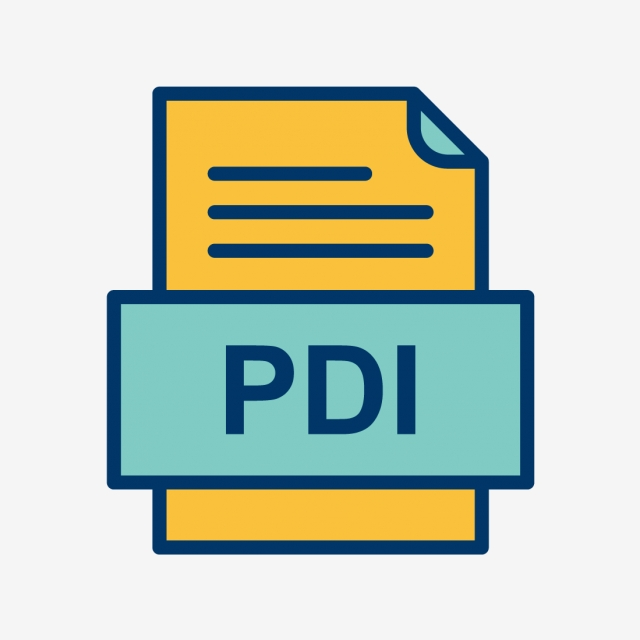 Pdi File Document Icon, Pdi, Document, File PNG and Vector.