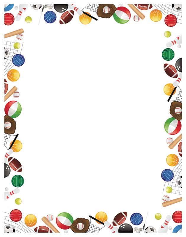 Free Sports Cliparts Borders, Download Free Clip Art, Free.