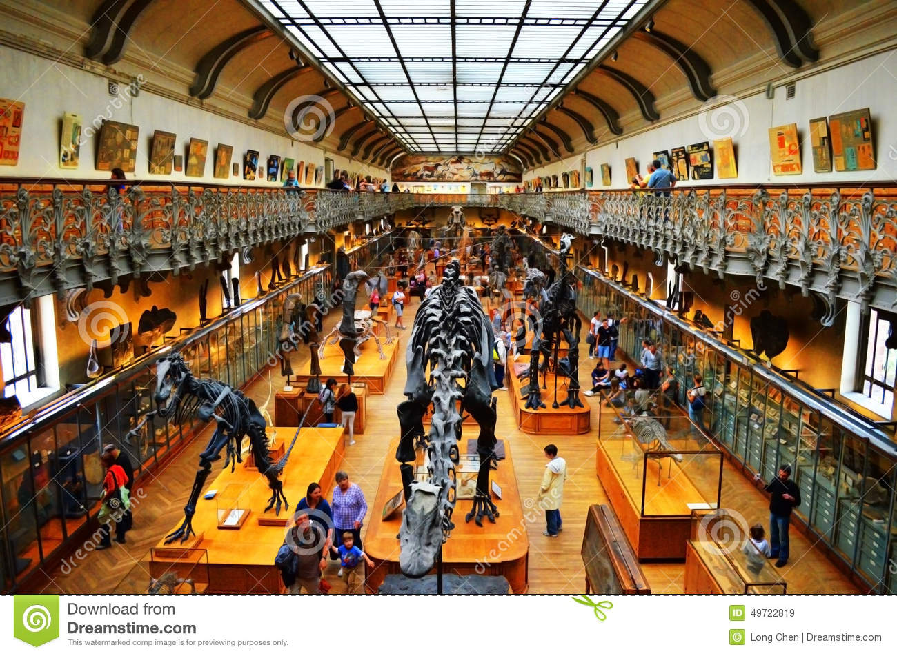 Natural Museum In Paris Editorial Stock Image.