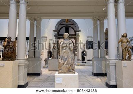Museum Pedestal Stock Photos, Royalty.