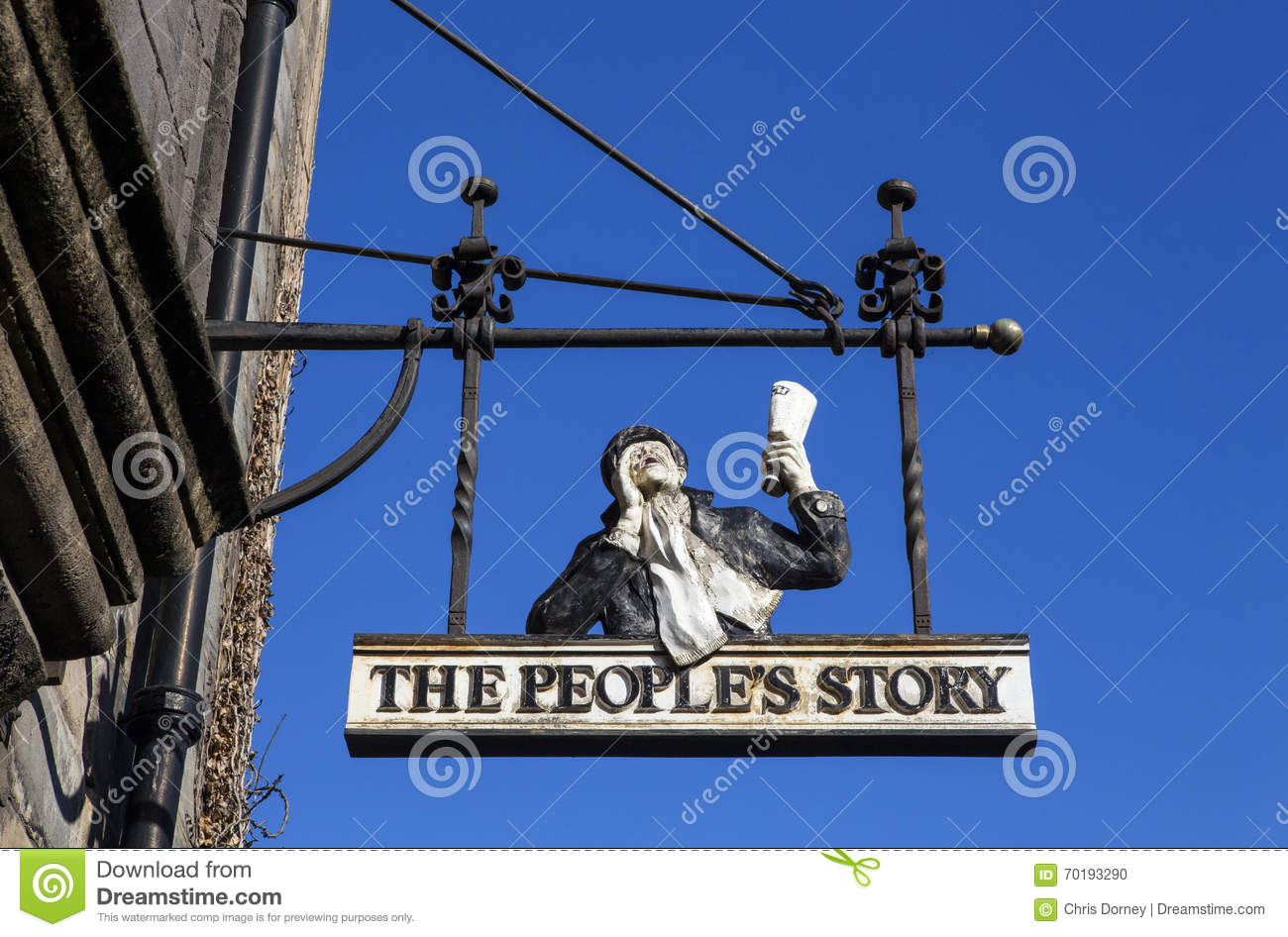 The People's Story Museum In Edinburgh Editorial Image.