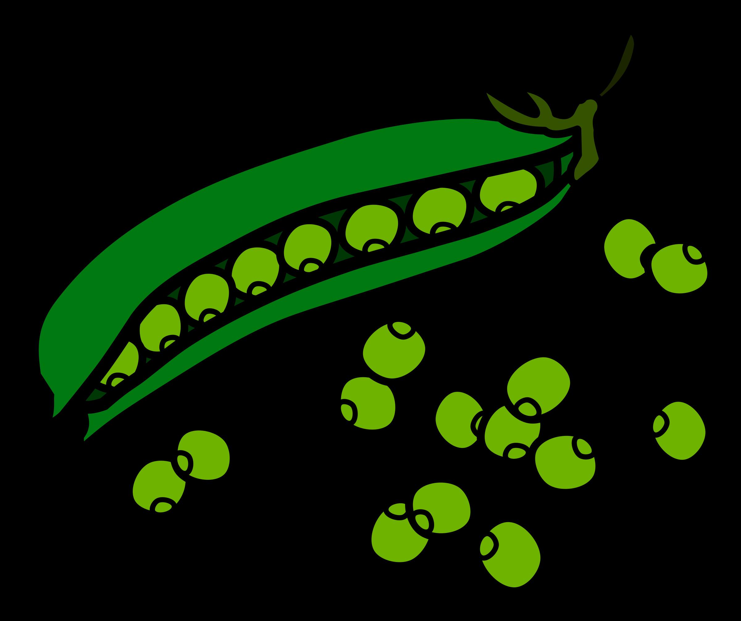 Peas Clipart.