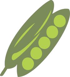 Free Pea Clipart, 1 page of Public Domain Clip Art.