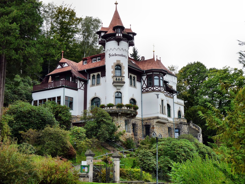 Free photo: Peace Castle In Rathen, Building.