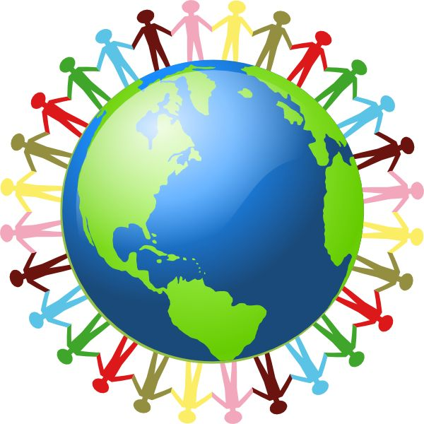 Clipart world peace day.