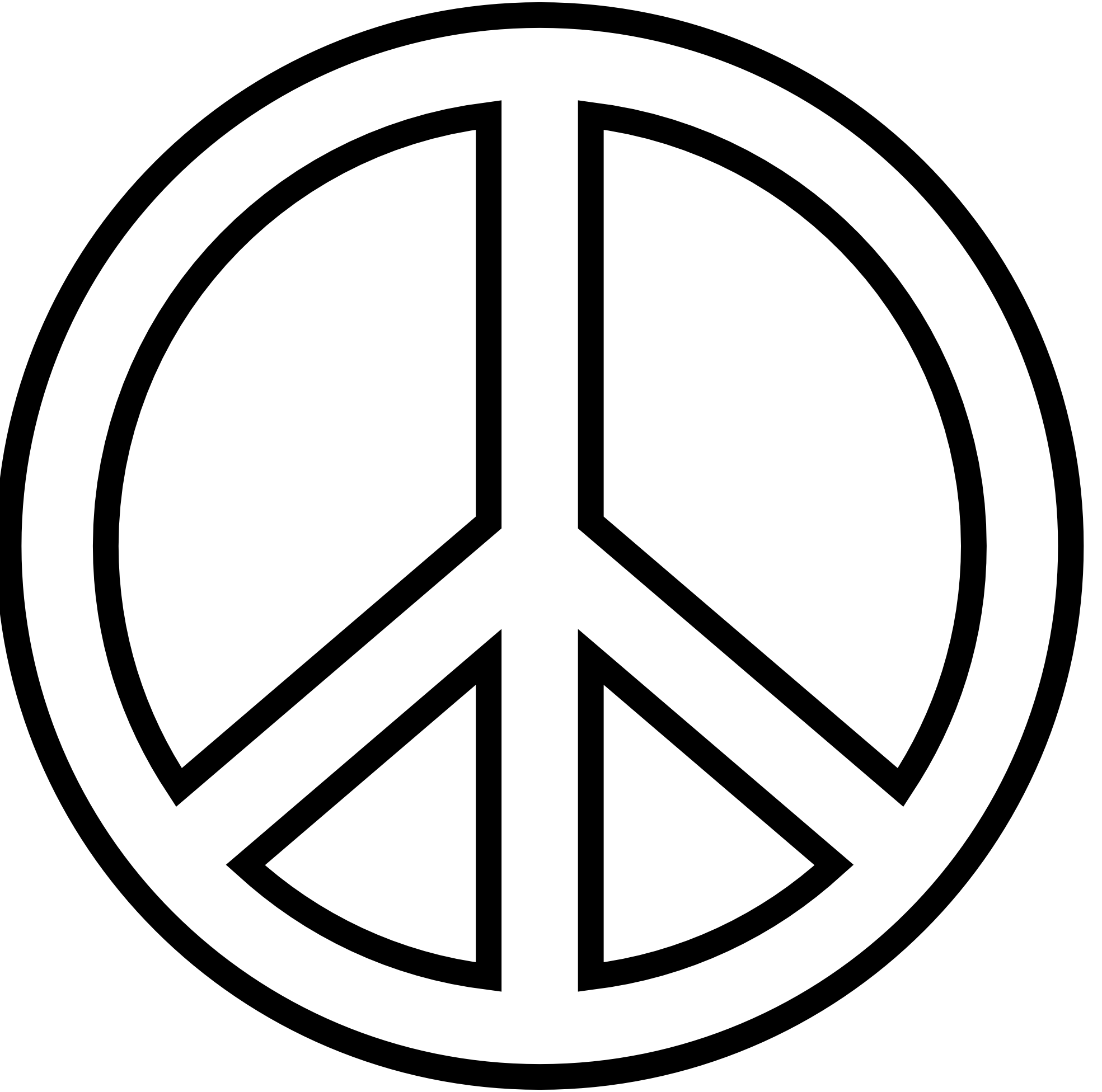 Peace Sign Vector.