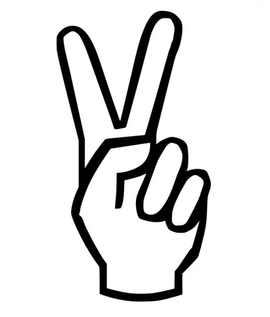 25+ best ideas about Peace Sign Hand on Pinterest.