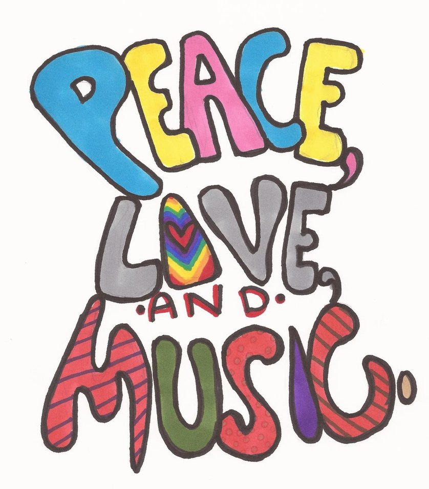 peace love music by Halestorm32 on DeviantArt.