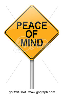 Peace of mind clipart.