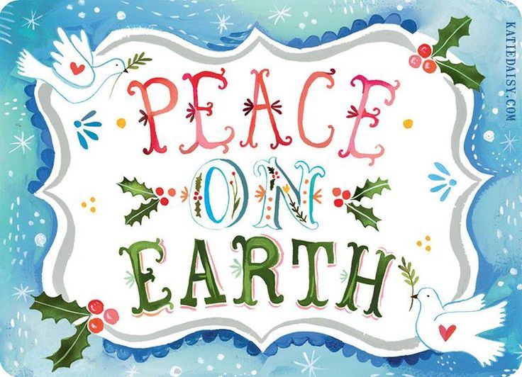 Download christmas cards peace on earth clipart Christmas.
