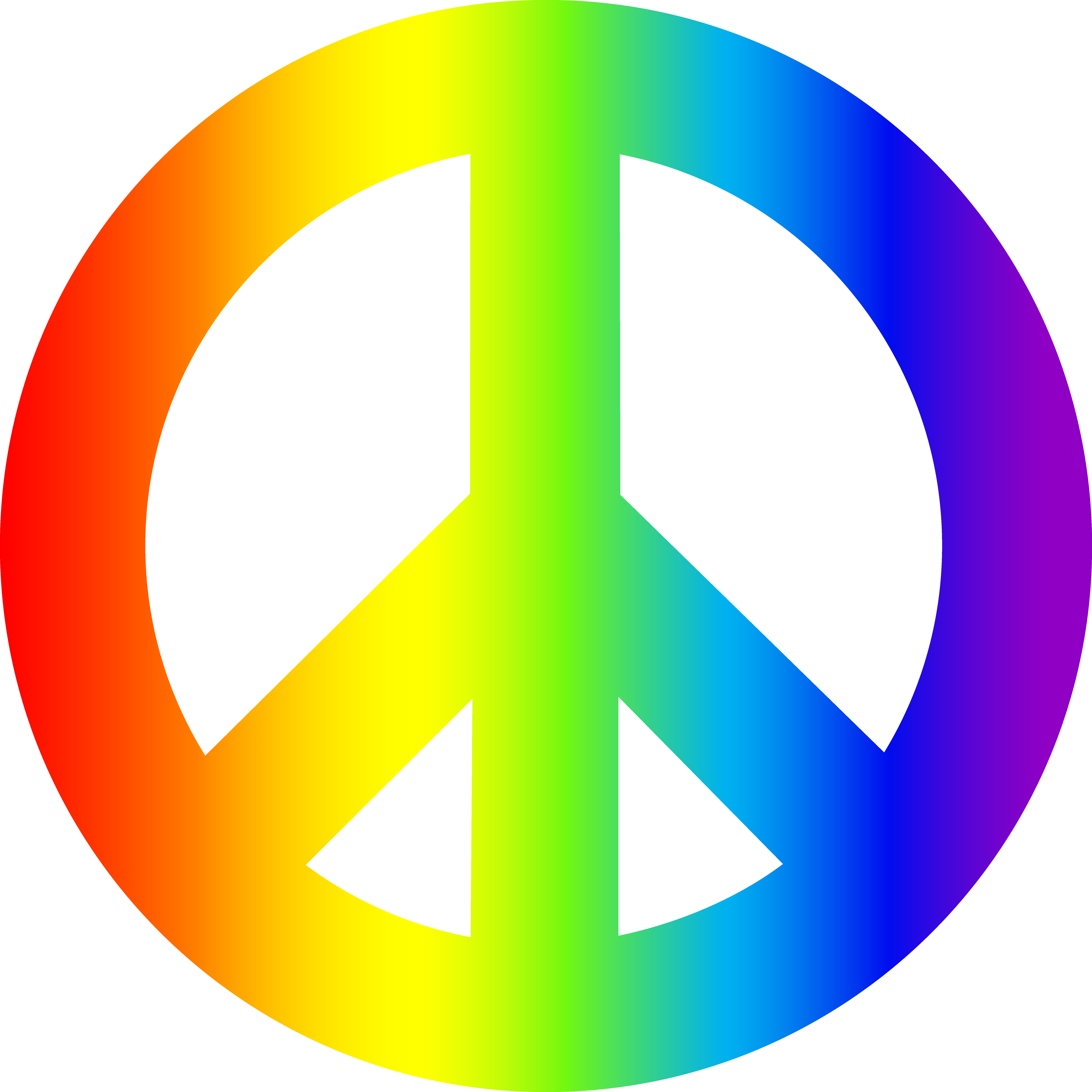 Peace Sign Transparent PNG Pictures.