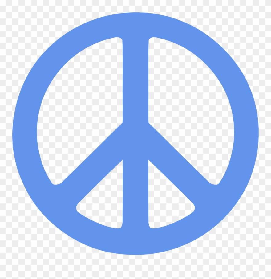Peace Symbol Vector.
