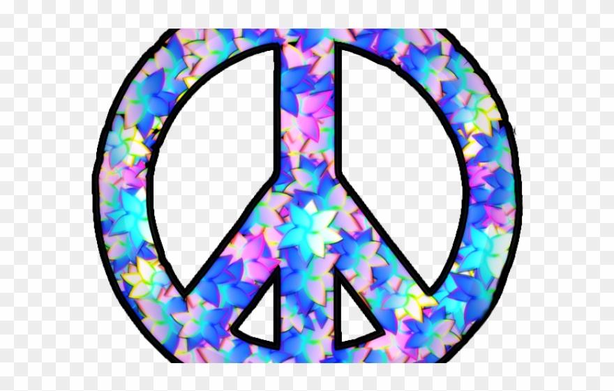 Peace Sign Clipart Transparent Background.