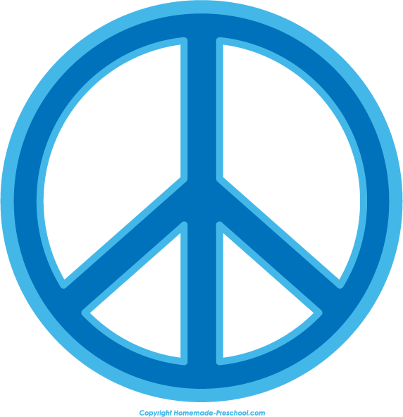 Free Peace Sign Clipart.