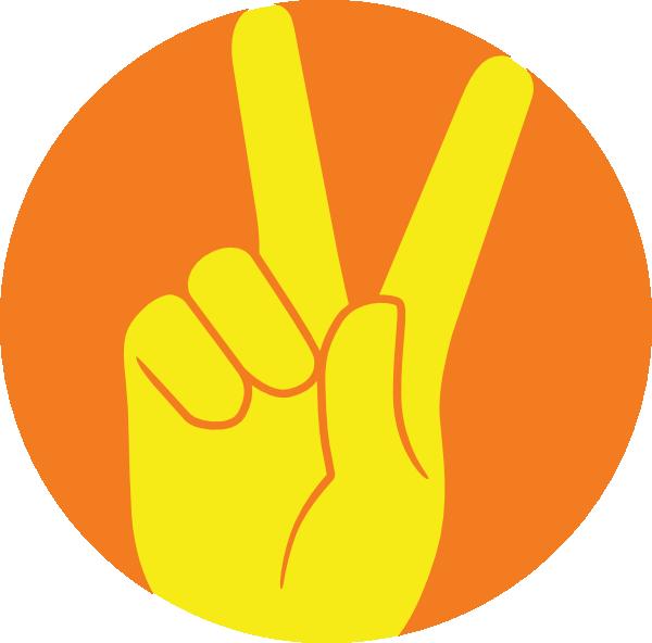 Peace Sign Clip Art at Clker.com.