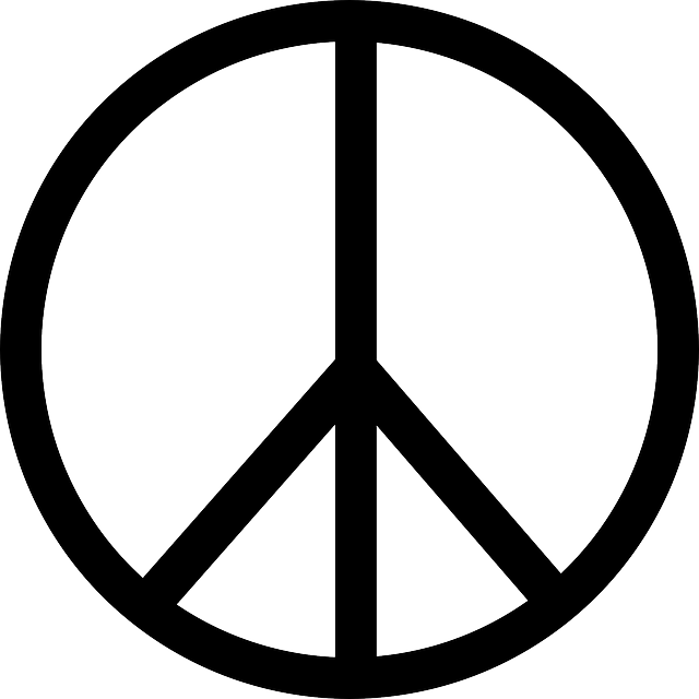 Download Peace Symbol PNG File.