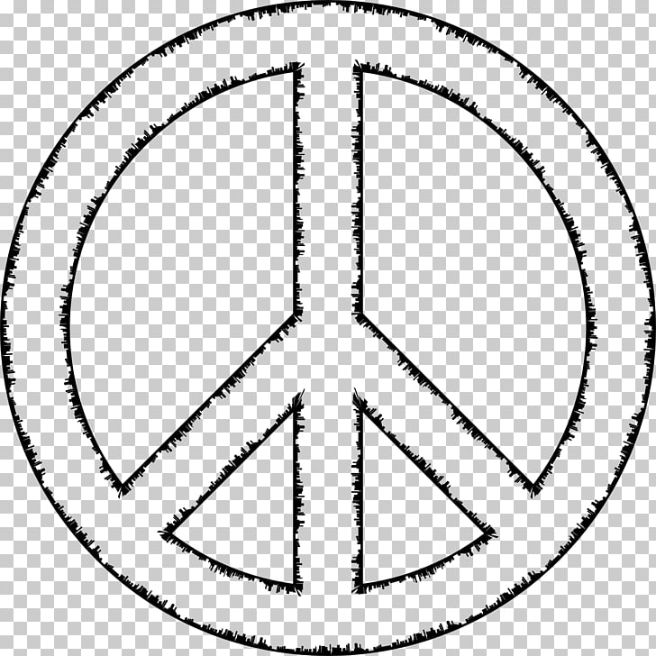 Peace symbols Silhouette , peace sign PNG clipart.