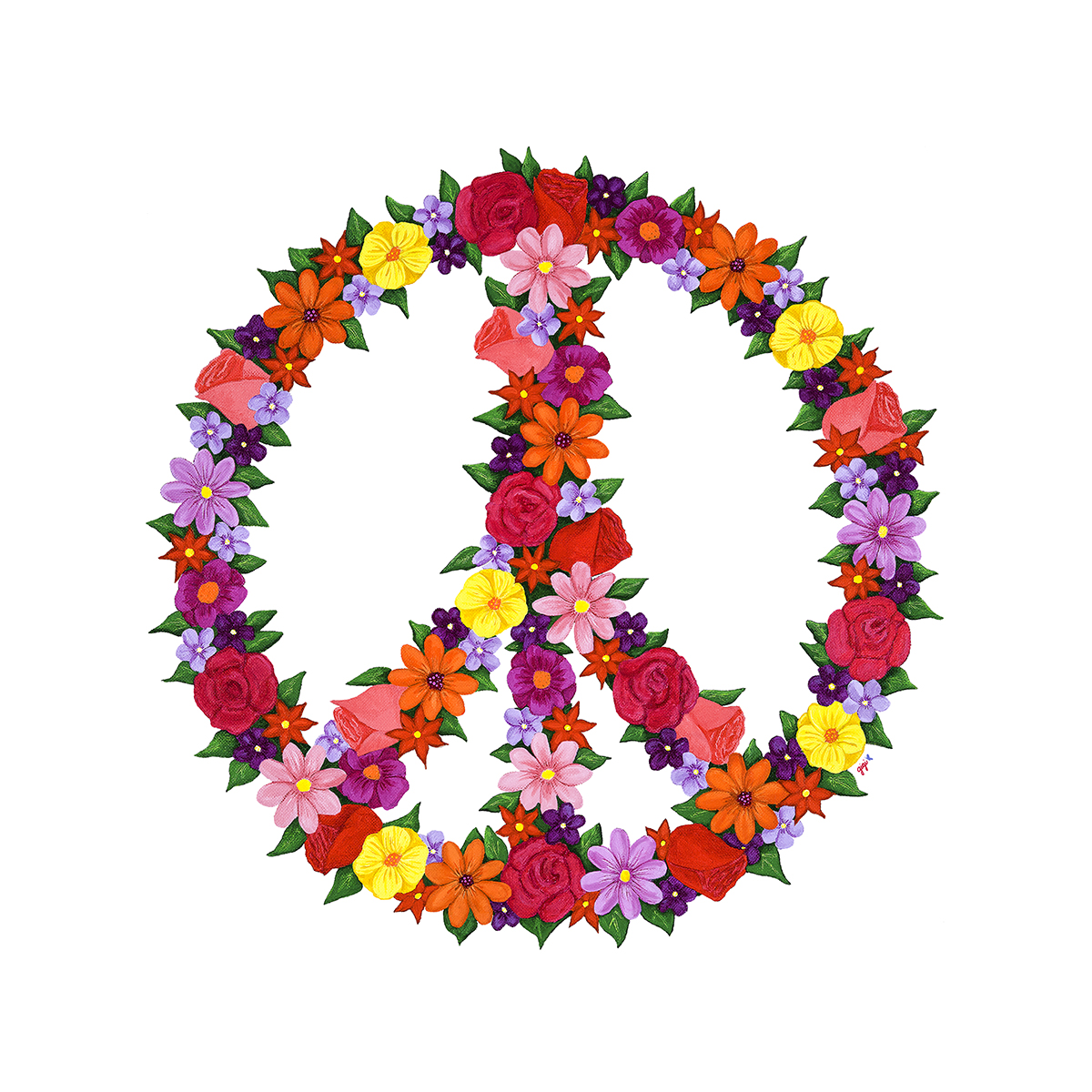 Peace Sign Clipart No Background.