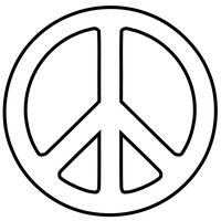Download Peace Symbol Free PNG photo images and clipart.