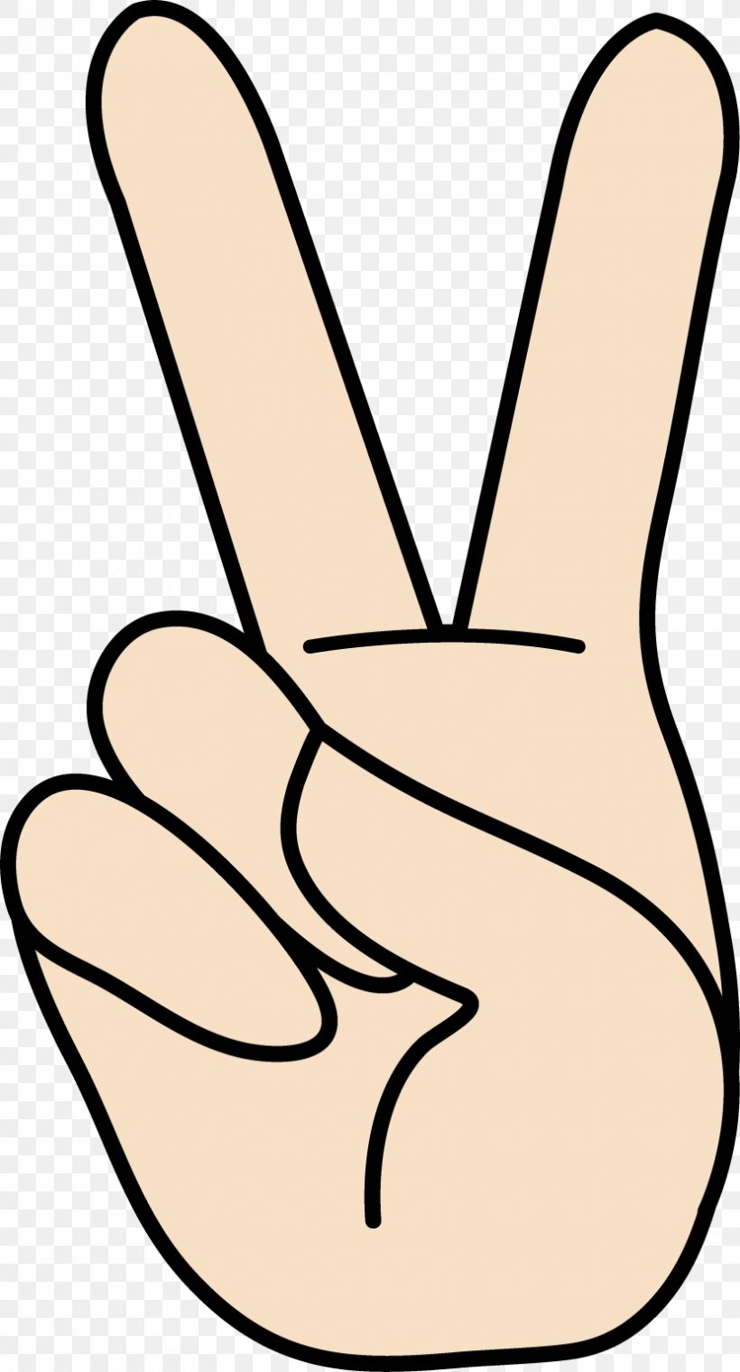 Peace Symbols V Sign Gesture Sign Language Clip Art, PNG.