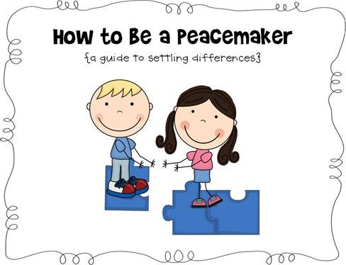No David! I'm a Peacemaker!.