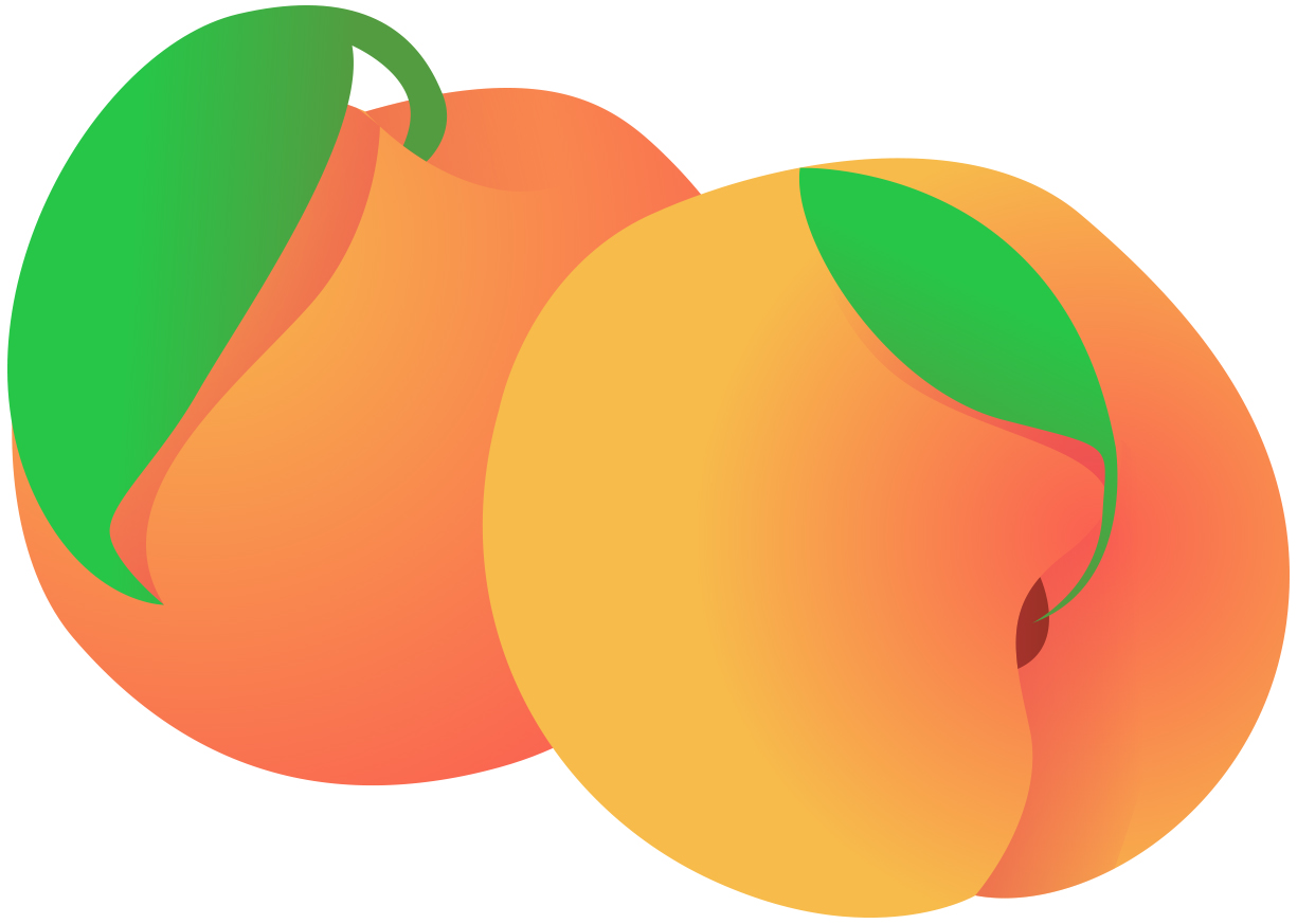Free Peach Clip Art Pictures.