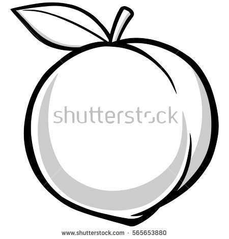 Peach Stock Images, Royalty.