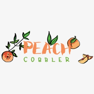 Peaches Clipart Peach Cobbler.