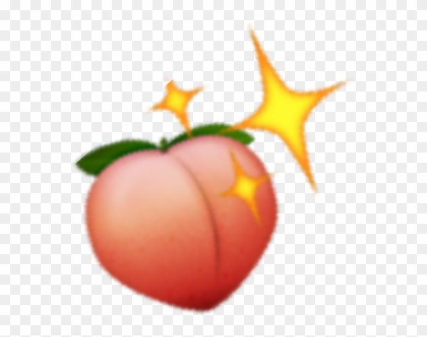 peach #sparkling #emoji #emojis.