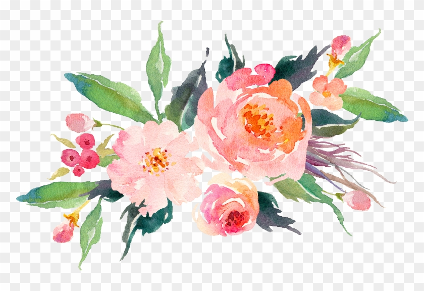Original Web 0nly Bunch Of Flowers, Peach Flowers,.