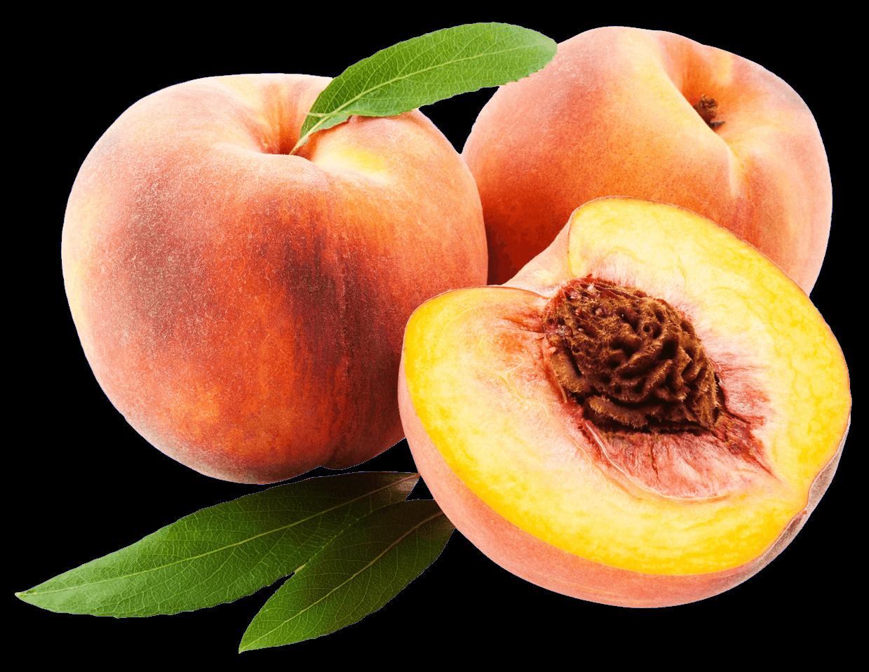 Peach Trio transparent PNG.