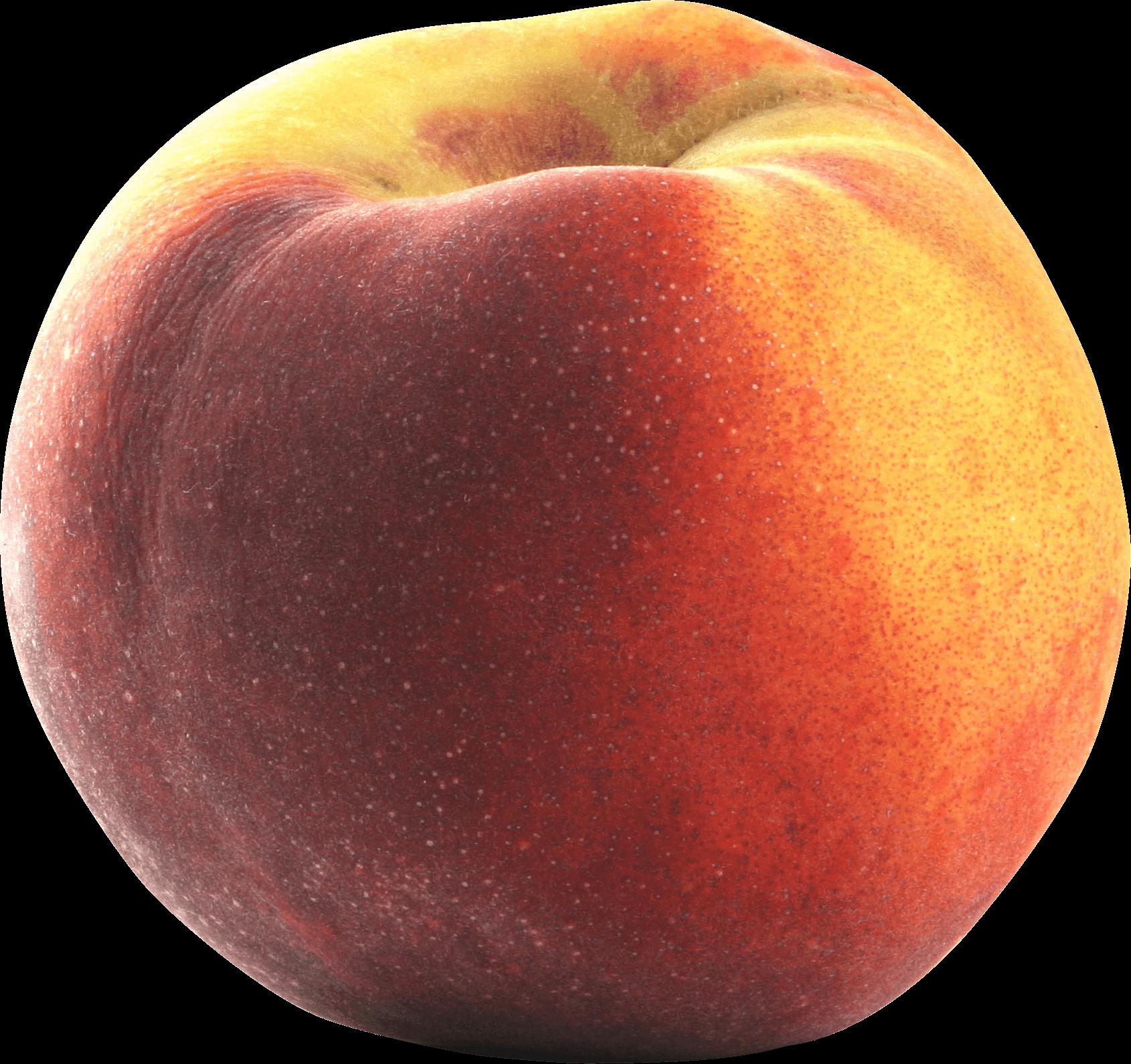 Large Peach transparent PNG.