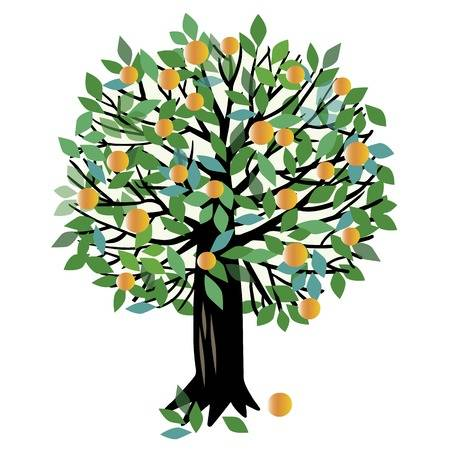 Peach tree clipart » Clipart Station.