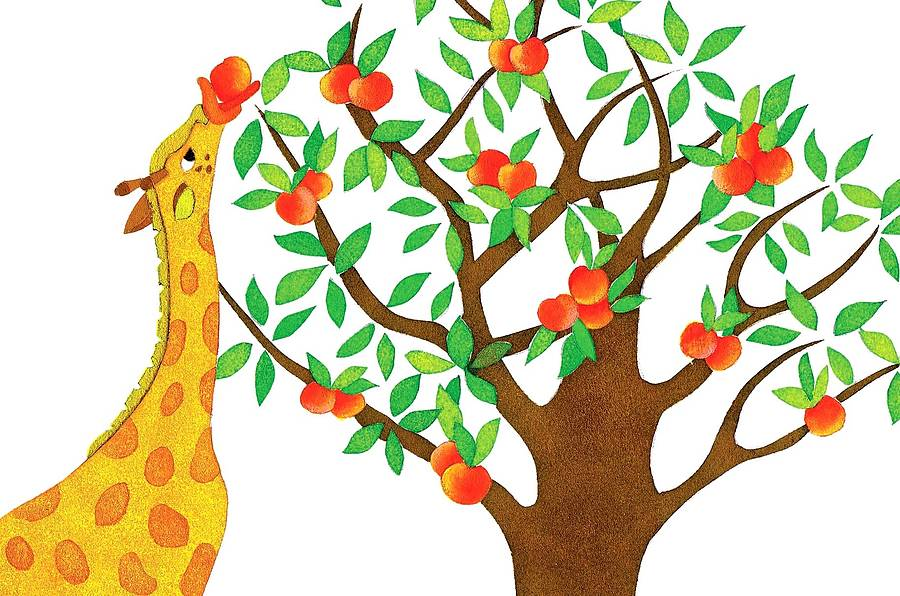 Peach Tree Clipart.