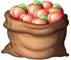 Peaches Clipart.