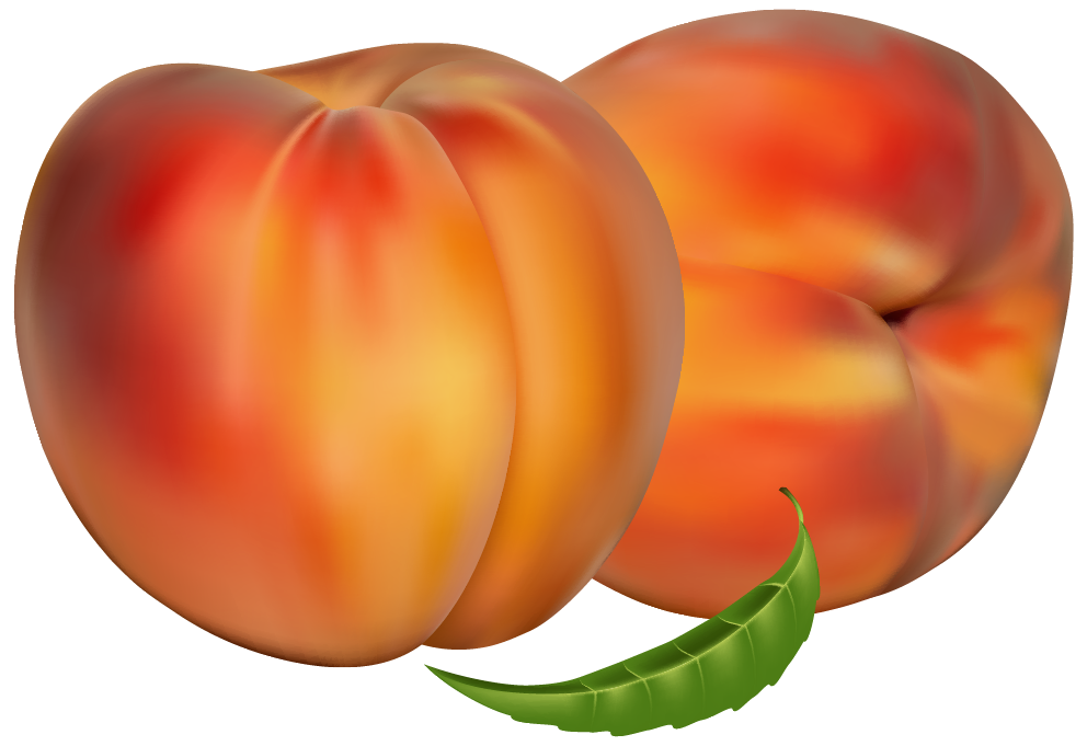 Peaches PNG Clipart.